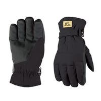 Wells Lamont  Black  Men's  Large  Duck Fabric  Gloves