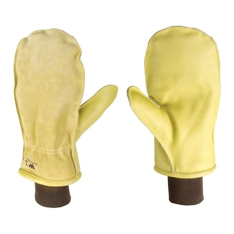Wells Lamont Palomino Men's Large Cowhide Leather Winter Mittens