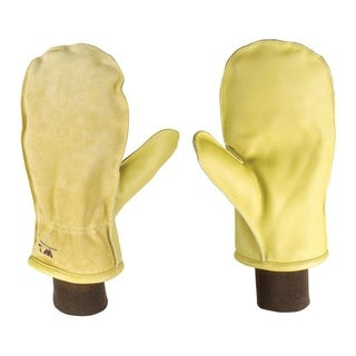 Wells Lamont Palomino Men's Extra Large Cowhide Leather Winter Mittens