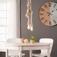 Harper Blvd Malden Natural DIY 2-Rope Pendant Lamp