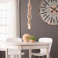 Harper Blvd Malden Natural DIY 1-Rope Pendant Lamp