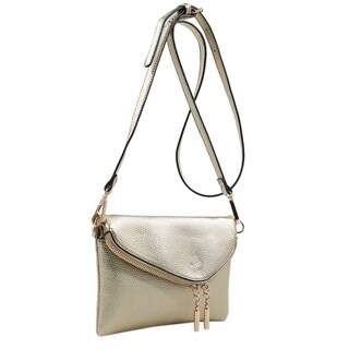 MKF Collection by Mia K Farrow Celebrity Style Saddle Crossbody Bag