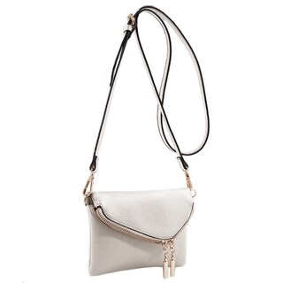 MKF Collection by Mia K Farrow Celebrity Style Saddle Crossbody Bag