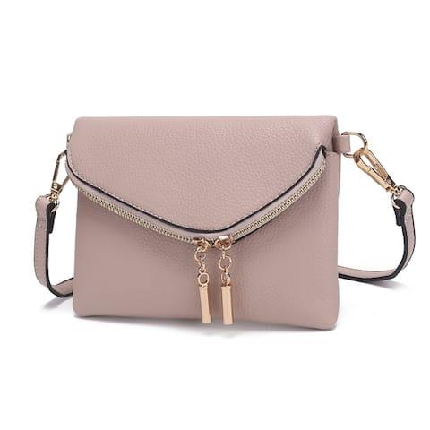 MKF Collection by Mia K. Celebrity Style Saddle Crossbody Bag