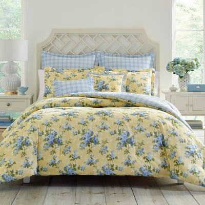 Laura Ashley Cassidy Floral Cotton Comforter Set