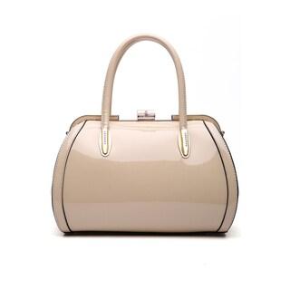 MKF Collection by Mia K Farrow Marlene Patent Satchel Handbag