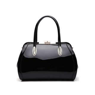 MKF Collection by Mia K Farrow Marlene Patent Satchel Handbag