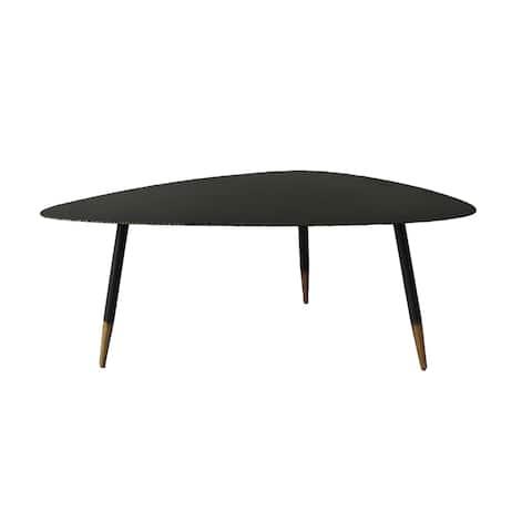 "Aurelle Home Balisto Industrial Metal Coffee Table - 15.5"" x 39.5"" x 23.5"""