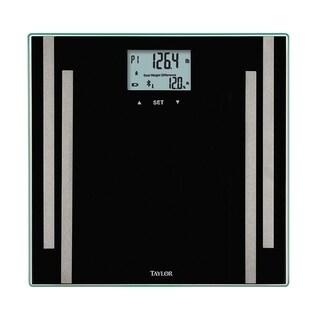 Taylor 400 lb. Smart Bluetooth Smart Scale Black