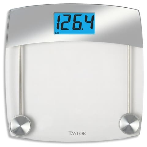 Taylor 440 lb. Gray Digital Bathroom Scale