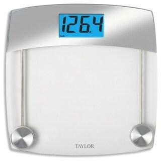 Taylor 440 lb. Gray Digital Bathroom Scale