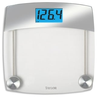 Link to Taylor 440 lb. Gray Digital Bathroom Scale Similar Items in Weight Management