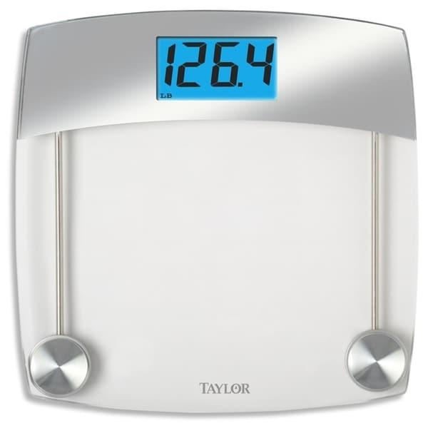 Taylor 440 lb. Gray Digital Bathroom Scale. Opens flyout.