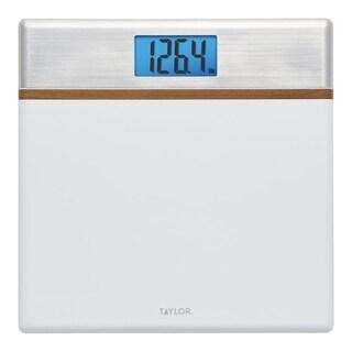 Taylor 440 lb. Digital Bath Scale White
