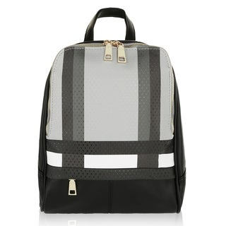 MKF Collection by Mia K Farrow Unisex Fashion Paris Backpack