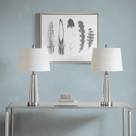 510 Design Spirit Silver Table Lamp (Set Of 2)