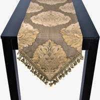 Sherry Kline Auburn Bronze 72-inch Luxury Table Runner - 12 x 72