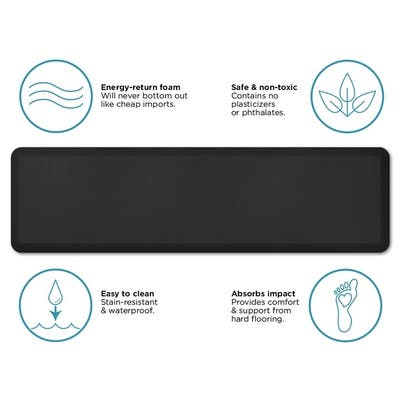 Buy Black Kitchen Rugs & Mats Online at Overstock | Our Best ...