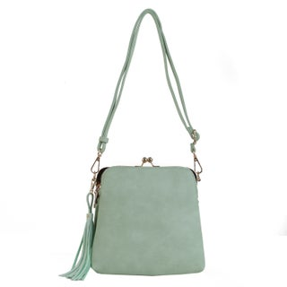MKF Collection by Mia K Farrow Samirah Crossbody-Shoulder bag (Option: Mint)