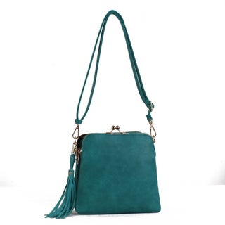 MKF Collection by Mia K Farrow Samirah Crossbody-Shoulder bag (Option: Teal)