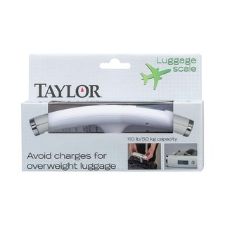 Taylor Connoisseur Series Digital Luggage Scale