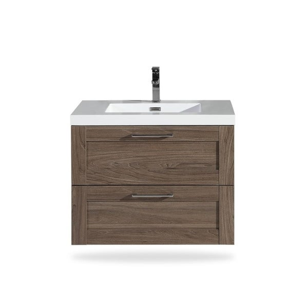 Shop The Cosmo Collection Inch Floating Modern Bathroom Vanity - 30 inch contemporary bathroom vanity