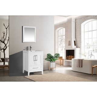 The Willow Collection 24 Inch Modern Bathroom Vanity