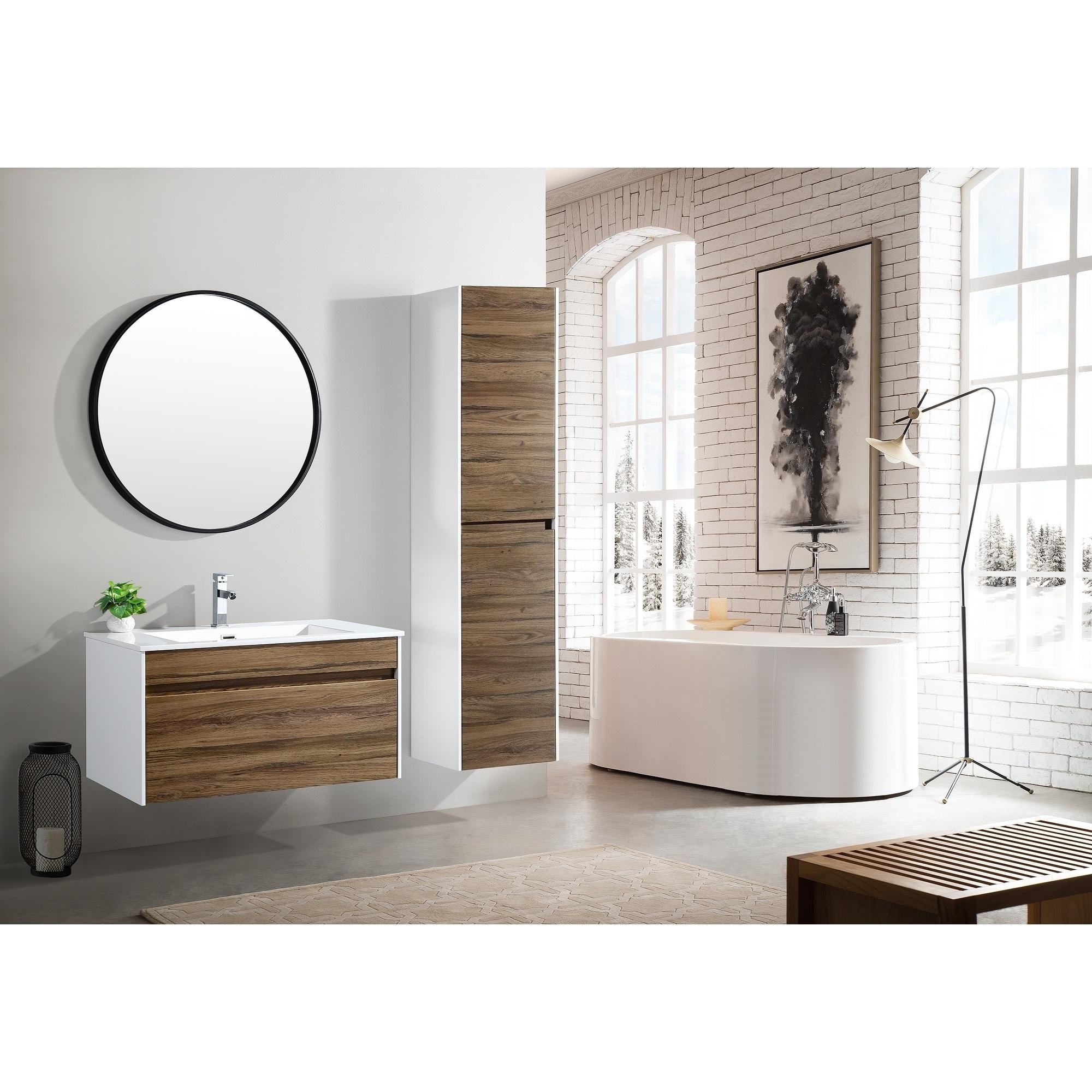 36 Inch Floating Modern Bathroom Vanity