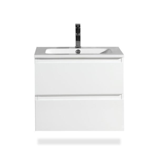 Shop The Frost Collection Inch Floating Modern Bathroom Vanity - 24 floating bathroom vanity
