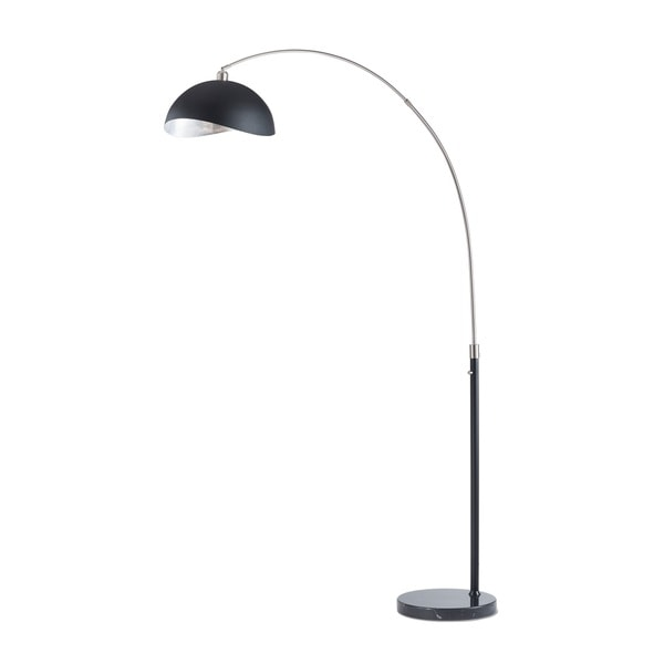 Luna Bella Arc Lamp Silver