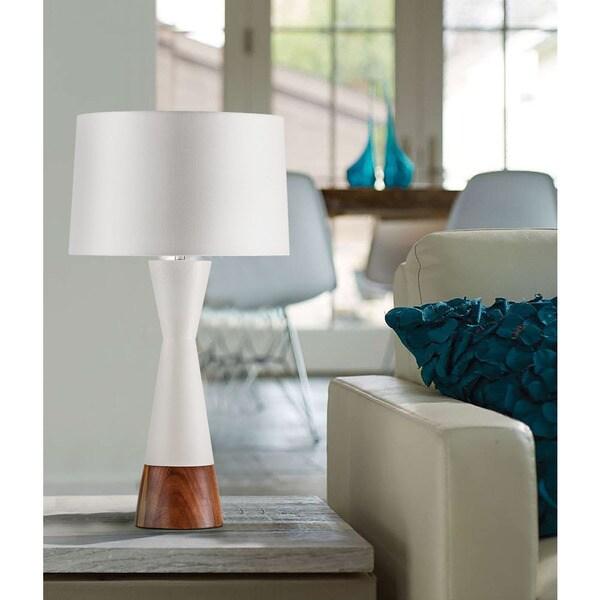 Borden Table Lamp Bone White