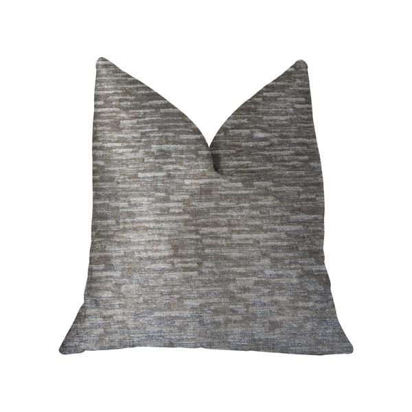 Plutus Montage Beige Luxury Throw Pillow