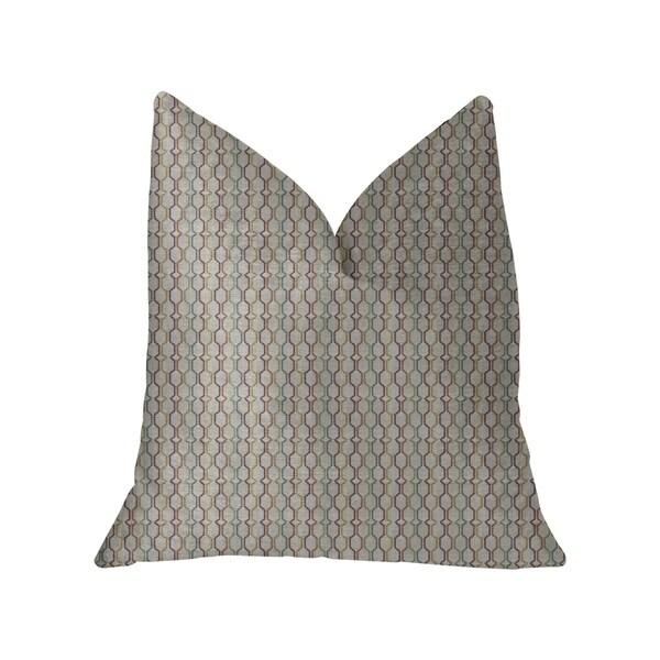 Plutus Jazzy Straw Multicolor Luxury Throw Pillow