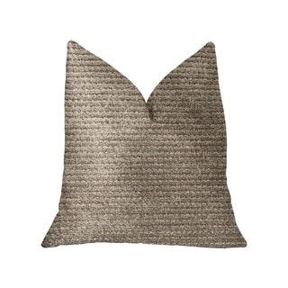 Plutus Classy Chic Ivory and Beige Luxury Throw Pillow