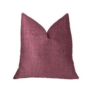Plutus Plumptious Purple Luxury Throw Pillow