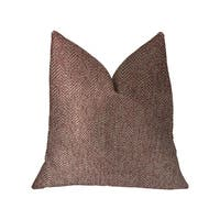 Plutus Antoinette Red and Gold Luxury Throw Pillow