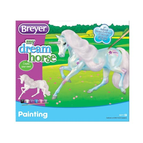 "Breyer My Dream Horse Paint Your Own 8"" Unicorn Kit"
