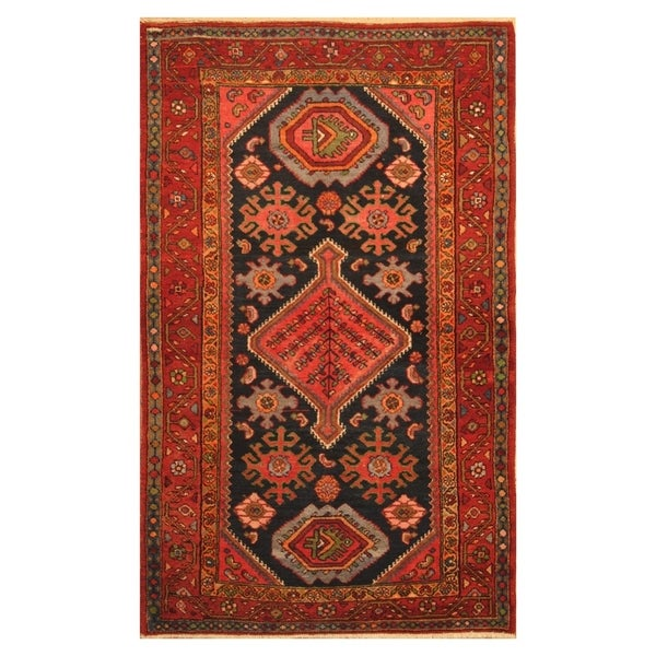 Hand Knotted Persian Wool Area Rug 5 10: Shop Handmade Herat Oriental Persian Hand-knotted Tribal