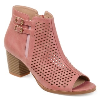 Journee Collection Comfort Harlem Women's Booties (More options available)