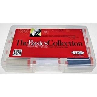 Mark Lipinksi's Basics Collection - Aurifil cotton thread, 50wt, 12 lg spools