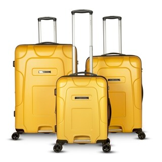 Gabbiano Enzo Collection 3-Piece Hardside Spinner Luggage Set
