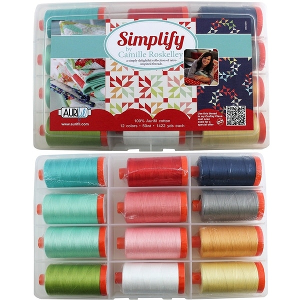 Camille Roskelley's Simplify Collection from Aurifil