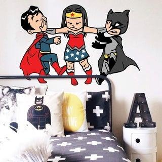 "Superheros Kids Comics Full Color Wall Decal Sticker K-793 FRST Size 20""x31"""