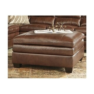 Signature Design by Ashley, Gleason Contemporary Canyon Oversized Accent Ottoman