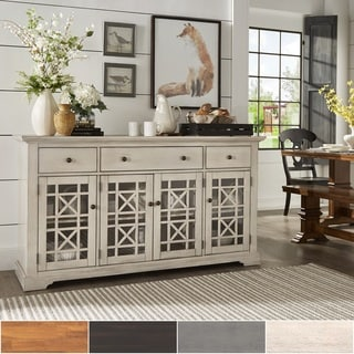 Merveilleux Lyndell Door Wood Buffet Server Console Table By INSPIRE Q Classic