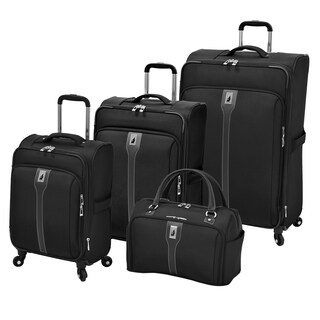 London Fog Knightsbridge 4-piece Expandable Spinner Luggage Set