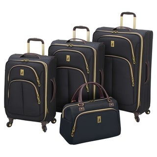 London Fog Coventry 4-piece Expandable Spinner Luggage Set