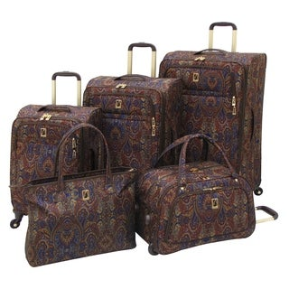 London Fog Soho 4-piece Expandable Spinner Luggage Set