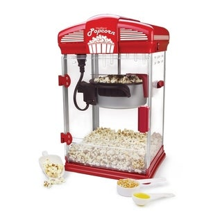 West Bend 4 qt. Red Oil Theater Style Corn Popper