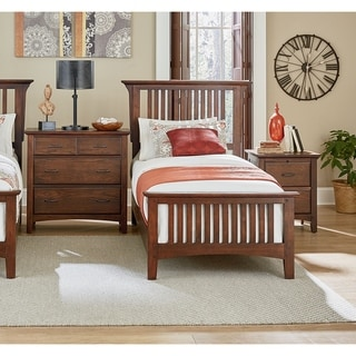 Link to Modern Mission Vintage Oak Finish Bed Set Similar Items in Bedroom Furniture